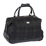Cutler Sports Kate Blackwatch Blue Travel Duffel