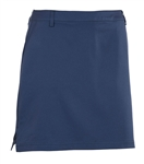AUR Women's Solid Stretch Golf Skort Nightfall