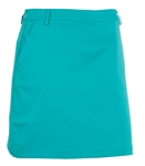 AUR Women's Solid Stretch Golf Skort Malibu