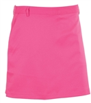 AUR Women's Solid Stretch Golf Skort Kiss Pink