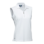 Daily Sports Macy Sleeveless Polo White