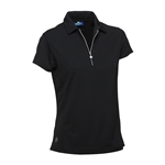 Daily Sports Macy Short Sleeve Golf Polo - Black