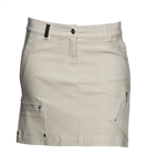 Daily Sports Lorie Taupe Snake Wind Skort