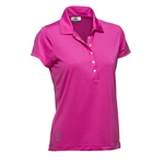 Daily Sports Mindy Cap Sleeve Polo - Lotus