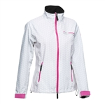 Daily Sports Ace Rain Jacket - White/Lotus