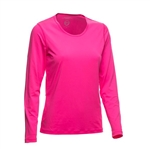Daily Sports Base Long Sleeve Tee - Strawberry