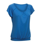 Daily Sports Free Short Sleeve Fitness Tee - Alaska Bluey