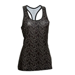 Daily Sports Jewel Long Tank - Black Alligator