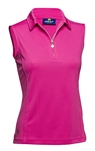 Daily Sports Macy Sleeveless Polo Rouge