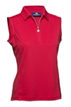 Daily Sports Macy Sleeveless Polo Campari
