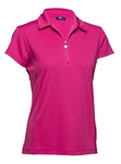 Daily Sports Macy Long Sleeve Polo Rouge
