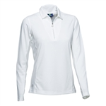 Daily Sports Macy Long Sleeve Polo - White