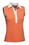 Daily Sports Shea Sleeveless Polo - Clementine