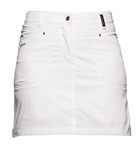 Daily Sports Scramble Golf Skort - White
