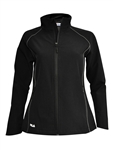 FILA Sofia Lightweight Softshell Jacket - Black