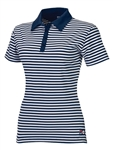 FILA Golf Paros Striped Ladies Polo