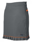 FILA Malaga Golf Skort Silver/Atomic Orange