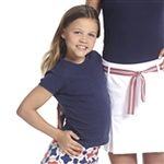 Golftini Girl Navy Tee Shirt