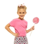 Golftini Girl Bubble Gum Pink Tee Shirt
