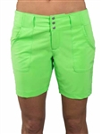 JoFit Belted Golf Short - Grass Green