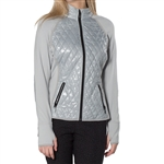 GG Blue Nikita Golf Jacket -  Silver/Black/Purple