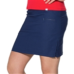 GG Blue Fab Fit Golf Skort - Liberty Blue