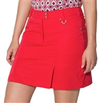 GG Blue Linx Golf Skort - Red
