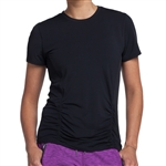 GG Blue Annie Short Sleeve Fitness Top - Black