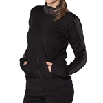 GG Blue Faith Fitness Jacket Black/Slate