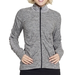 GG Blue Faith Active Jacket - Charcoal/Black