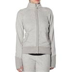 GG Blue Haven Fitness Jacket- Light Heather Grey