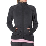 GG Blue Haven Fitness Jacket- Slate Heather Grey