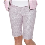 GG Blue Ashley Golf Short - GG Pink