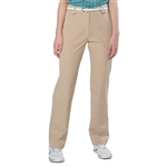 GG Blue Cool Flat Front Golf Pant - Sand
