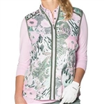 GG Blue Piper Golf Vest - Garden Print