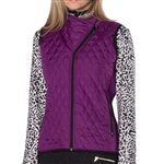 GG Blue Toni Golf Vest - Purple with Black