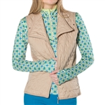 GG Blue Toni Golf Vest - Sand