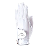 Glove It Ladies Golf Glove - White Clear Dot