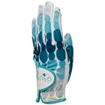 Glove It Ladies Golf Glove Aqua Rain