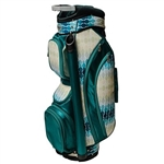 Glove It Ladies Cart Bag Aqua Rain