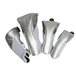 Glove It Signature Headcovers (Set of 4) - Silver Suede
