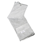 Glove It Signature  Golf Towel - Silver Suede