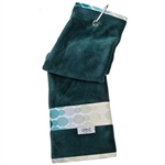 Glove It Golf Towel - Aqua Rain
