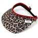 Glove It Leopard Collection Ladies Golf Visors (w/Twist Cord)