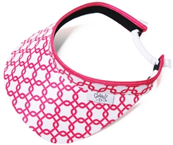 Glove It Pink Link Ladies Golf Visor