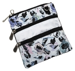 Glove It 3-Zip Carry All Bag - Abstract Garden