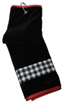 Greg Norman Checkmate Golf Towel