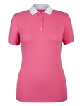 Tail Catherine Essentials Polo - Majestic Rose