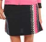Golftini Parker Punch Performance Golf Skort