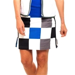 Golftini Hollywood Squares Cotton Golf Skort